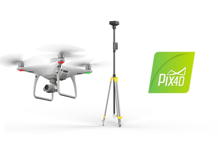 Pack Phantom 4 RTK + D-RTK 2 + Pix4D