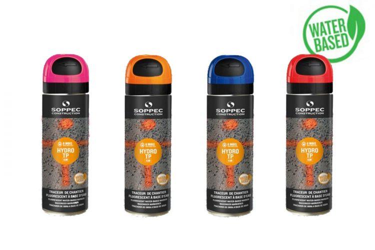 Spray de pintura en fase acuosa HYDRO TP