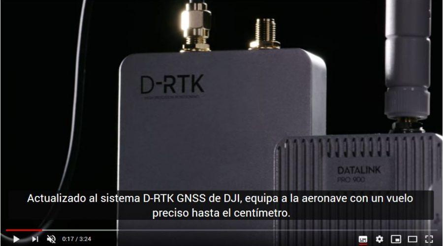 Video Controlador de vuelo A3 DJI