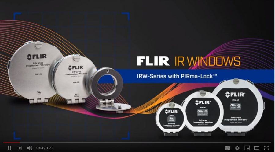 Video Ventana infrarroja con pirma-lock IR Windows FLIR