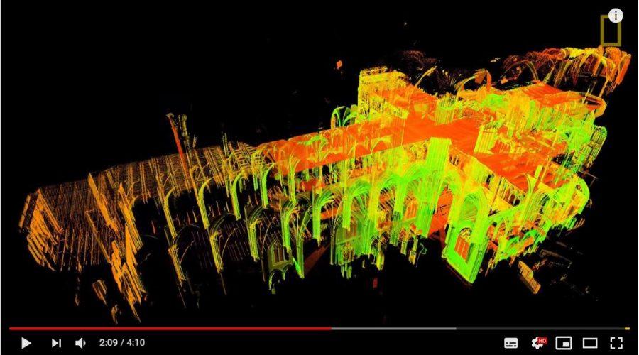 laser escaner en patrimonio