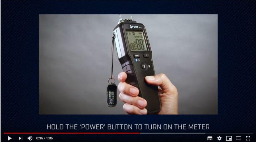 Video Medidor de humedad FLIR MR55