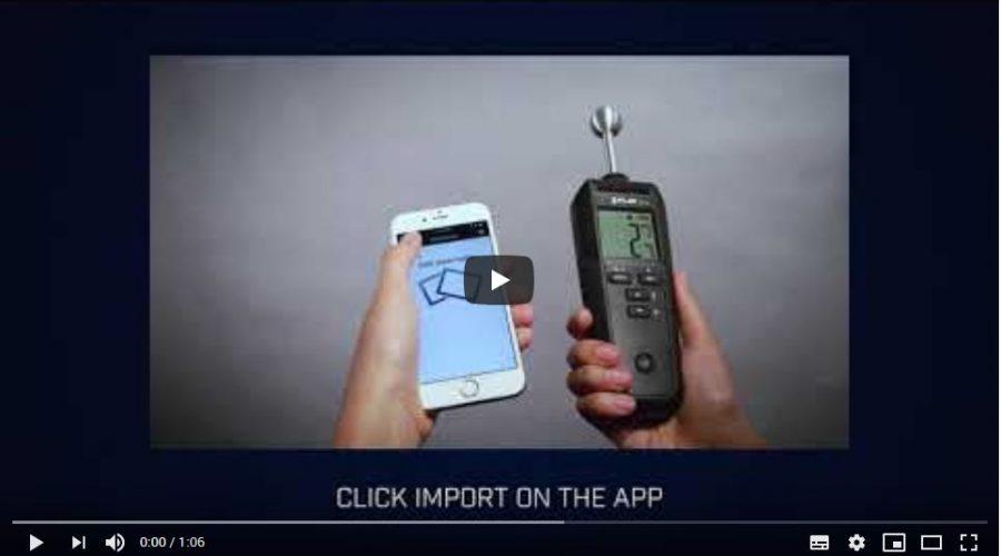 Video Medidor de humedad FLIR MR59