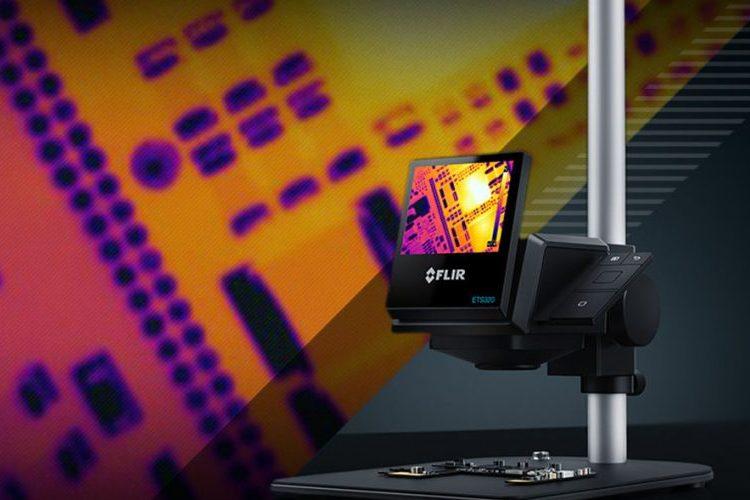 Termografía en productos electrónicos con la cámara termográfica FLIR ETS320
