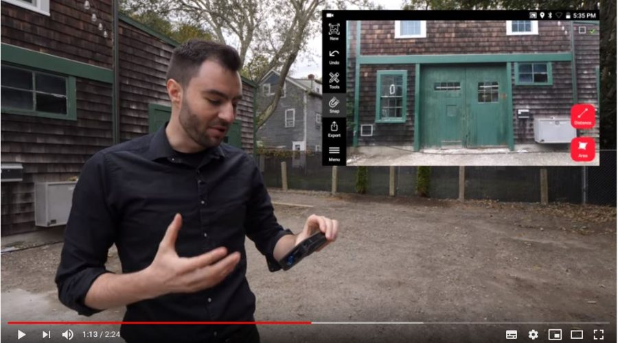 Video Aplicación para Leica BLK3D Mobile