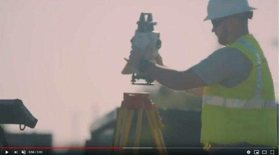 Video Estación Total Leica iCON iCR80S Robotic Construction