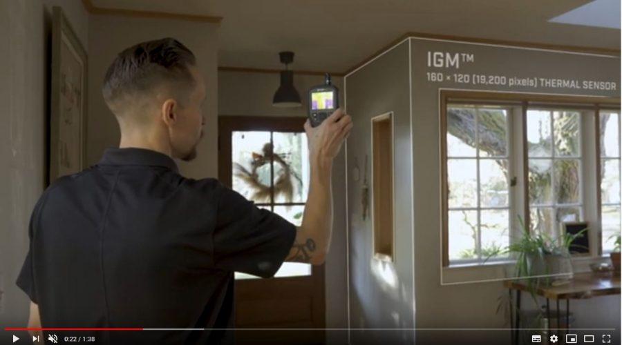 Video Cámara termográfica y sensor de humedad FLIR MR277