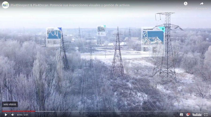 Video Pix4Dinspect: Software de automatización de inspección industrial