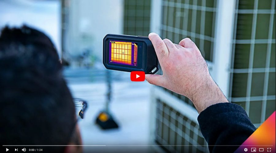 Video Cámara termográfica FLIR C5