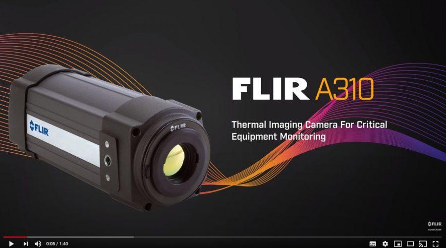 Video Cámara termográfica FLIR A310 9Hz