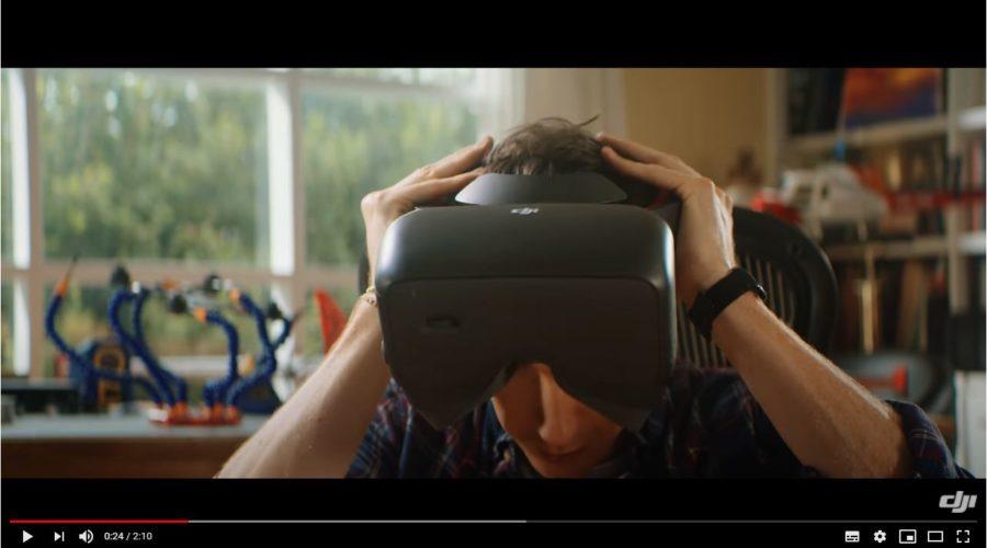 Video DJI Goggles Racing Edition gafas para dron