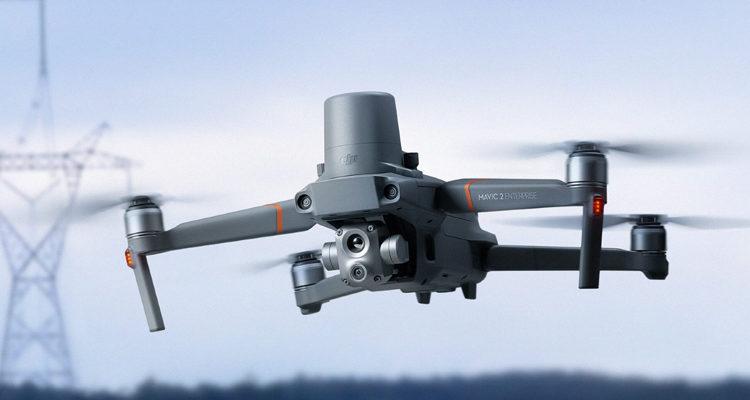 DRONES DJI Y SENSORES
